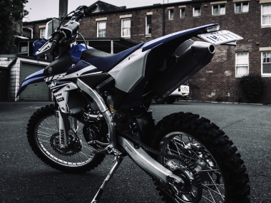 Yamaha WR250F Launch