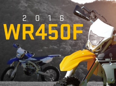 Yamaha WR450F Launch 2016
